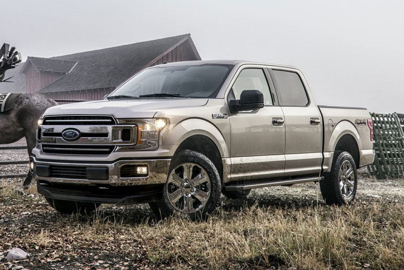 2. Ford F-Series (doanh số: 623.087 chiếc).