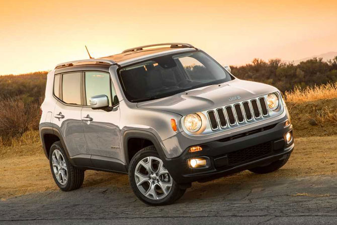 7. Jeep Renegade 2018.