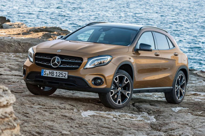 9. Mercedes-Benz GLA 2019.