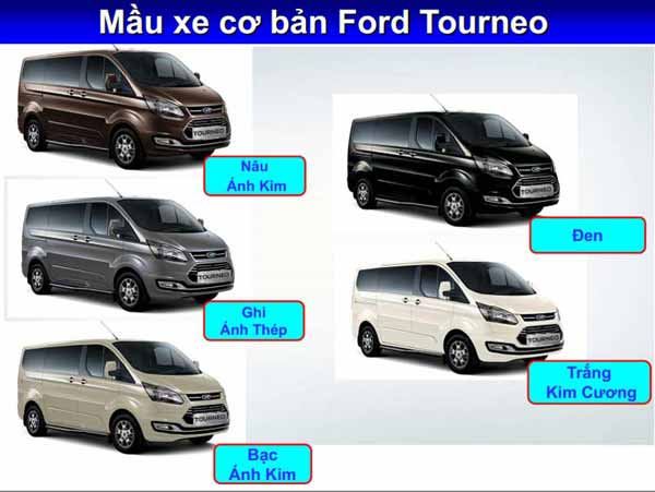 Ford Tourneo mầu xe