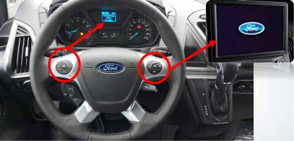 Ford Tourneo thiết kế nội thất